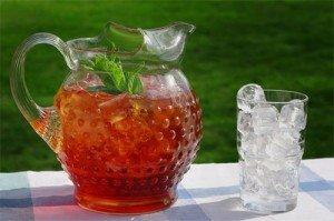 как приготовить чай со льдом