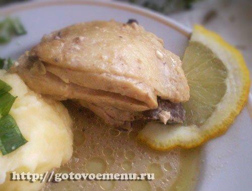 рецепт курицы с лимоном